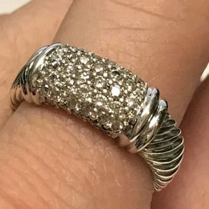 DAVID YURMAN CABLE METRO DIAMOND RING